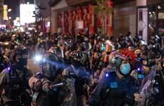 Hong Kong: Người biểu tình tiếp tục tụ tập bất chấp dịch COVID-19