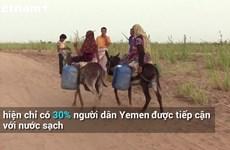 [Video] Nỗi buồn của trẻ em Yemen khi không thể rửa tay chống COVID-19