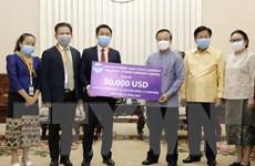 Doanh nghiệp Việt Nam chung tay cùng Lào chống COVID-19