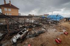 Nga: Hỏa hoạn tại công trường xây dựng bệnh viện chống dịch COVID-19