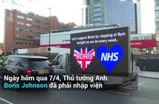 [Video] Người dân Anh cùng chúc Thủ tướng Boris Johnson sớm lành bệnh