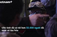 [Video] Hàng dài người rời Vũ Hán sau khi dỡ bỏ lệnh phong tỏa