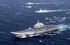 Tàu sân bay Liêu Ninh của Trung Quốc đi qua vùng biển Nhật Bản