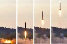 Triều Tiên bắn nhiều vật thể được cho là tên lửa hành trình tầm ngắn