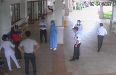 Khởi tố đối tượng không đo thân nhiệt, hành hung bảo vệ bệnh viện