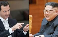 Chủ tịch Triều Tiên trả lời thư chúc mừng của Tổng thống Syria