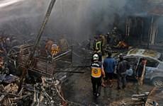Syria: Đánh bom xe tải chở nhiên liệu, gần 100 người thương vong