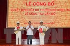 Hậu Giang công bố quyết định bổ nhiệm Giám đốc Công an tỉnh