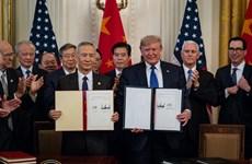 Trung Quốc cam kết thực hiện thỏa thuận thương mại với Mỹ