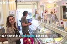 [Video] Người Italy đua nhau ăn kem Gelato sau chuỗi ngày giãn cách