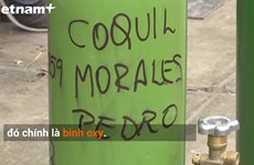 [Video] Người dân Peru đổ xô tích trữ bình oxy vì dịch COVID-19