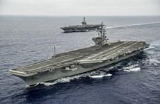Tàu sân bay Mỹ rời Nhật Bản đến Ấn Độ Dương-Thái Bình Dương