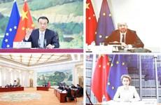 Trung Quốc và EU cam kết tăng cường hợp tác kinh tế song phương