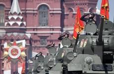 [Photo] Nga duyệt binh kỷ niệm 75 năm cuộc Chiến tranh Vệ quốc vĩ đại