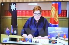Hội nghị Bộ trưởng ASEAN-Australia nhấn mạnh hợp tác chống COVID-19