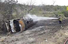 Colombia: Cháy xe bồn chở dầu khiến 47 người thương vong