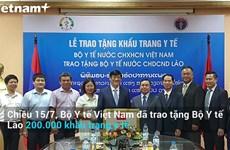 [Video] Việt-Lào tăng cường phối hợp phòng, chống dịch bệnh COVID-19