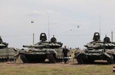 Armenia tập trận với Nga giữa lúc căng thẳng với Azerbaijan