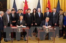 Trung Quốc và Mỹ sẽ đánh giá Thỏa thuận thương mại vào ngày 15/8