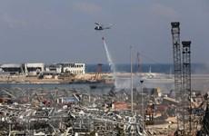 Liban thành lập ủy ban điều tra vụ nổ ở thủ đô Beirut