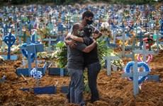 Dịch COVID-19: Số ca tử vong tại Brazil vượt 100.000 trường hợp