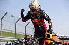 Max Verstappen chiến thắng trong ngày sinh nhật F1 tròn 70 tuổi