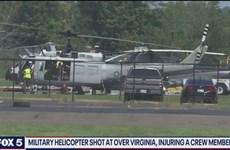 Mỹ: FBI điều tra vụ trực thăng quân sự bị bắn tại bang Virginia
