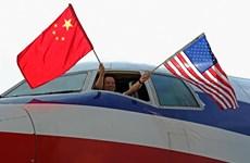 Mỹ và Trung Quốc nhất trí tăng cường các chuyến bay giữa hai nước