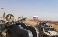 Xe quân sự Nga và Mỹ va chạm tại Syria, có người bị thương