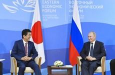 Lãnh đạo Nhật-Nga điện đàm về các vấn đề song phương