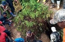 Ngập lụt hầm mỏ làm hàng chục người chết tại CHDC Congo