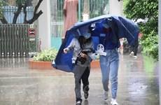 Bắc Bộ và Thanh Hóa mưa dông rải rác, một số nơi có mưa to