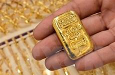 Giá vàng giao ngay phiên 15/9 giảm nhẹ do đồng USD phục hồi