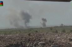 Bộ Quốc phòng Azerbaijan tung video bắn tên lửa vào lãnh thổ Armenia