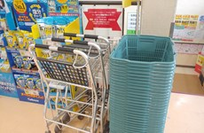 Nhật Bản: Vấn nạn trộm cắp gia tăng do thói quen sử dụng túi mua sắm