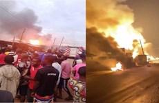 Nigeria: Nổ xe chở nhiên liệu ở thành phố Lagos, 5 người thiệt mạng