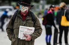 Châu Âu tiếp tục 'gồng mình' chống chọi với dịch COVID-19