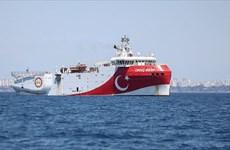 Hy Lạp chỉ trích Thổ Nhĩ Kỳ thăm dò địa chấn ở Đông Địa Trung Hải