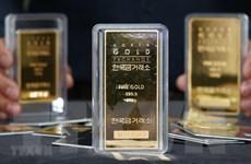 Giá vàng châu Á phiên 12/10 giảm nhẹ trước đà tăng của đồng USD