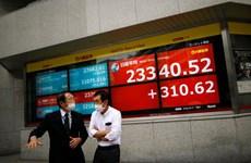 Thị trường chứng khoán thế giới đồng loạt chìm vào sắc đỏ