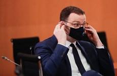 Bộ trưởng Y tế Đức xét nghiệm dương tính với virus SARS-CoV-2