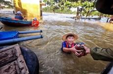 Bão Molave đổ bộ vào Philippines, gần 9.000 người phải sơ tán