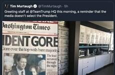 Chiến dịch tranh cử của ông Trump bị tố cáo tung ảnh giả về bầu cử