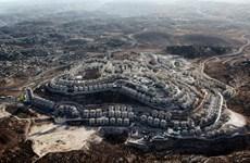 Jordan và Palestine phản đối việc xây dựng các khu định cư của Israel
