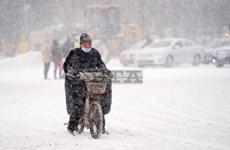 Bão tuyết tại Trung Quốc khiến hàng trăm chuyến bay bị hủy