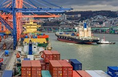 Tỷ lệ trao đổi thương mại của Hàn Quốc tăng tháng thứ tám liên tiếp