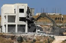 Israel phá dỡ nhà của người Palestine ở Bờ Tây và Đông Jerusalem