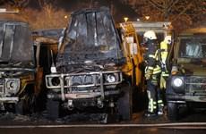 Đức điều tra vụ phá nhiều xe quân đội ở Leipzig trong đêm Giao thừa