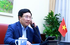 Bộ trưởng Ngoại giao Phạm Bình Minh điện đàm với người đồng cấp Hoa Kỳ