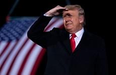 Mỹ: Ông Trump cam kết chuyển giao quyền lực, lên án biểu tình bạo lực